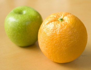 apple &amp; orange